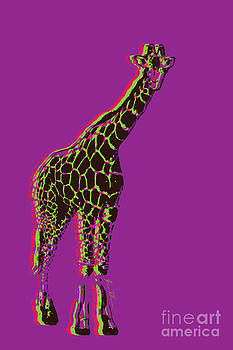 Multi Color Giraffe by Beauty Balance Design