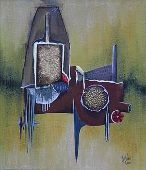 Multi Layer 2 by Gertrude Scheffler