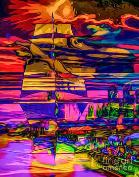 Algirdas Lukas - Multicolour Seascape