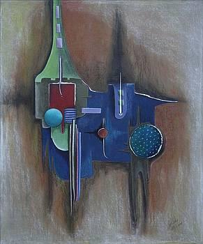 Multilayer 1 by Gertrude Scheffler