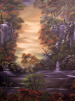 Multitudes of Cascades  Sold by Cynthia Adams