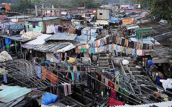 Mumbai Clutter by Money Sharma