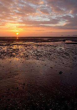 Mumbles sunrise vertical by Paul Cowan