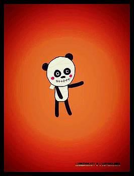 Mummy Panda by Watcharee Suebkhajorn