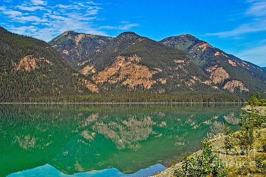 Muncho Lake British Columbia Canada by Kimberly Blom-Roemer