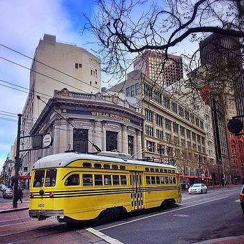 Muni On Market  #muni #marketstreet by Karen Winokan