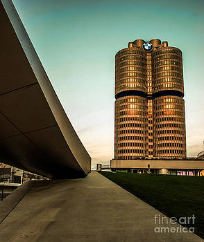 munich - BMW office - vintage by Hannes Cmarits