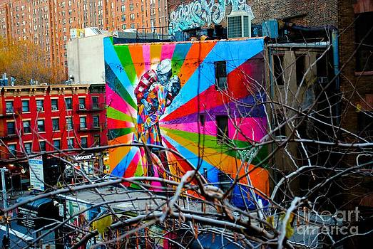 Mural from the Highline by Parker O'Donnell