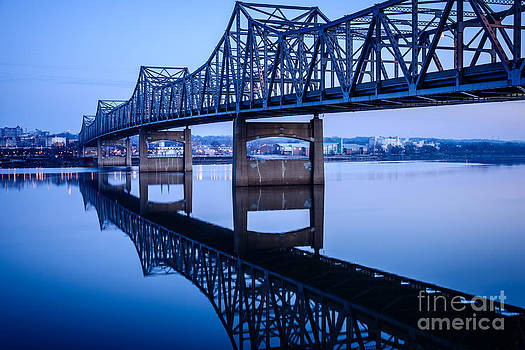Paul Velgos - Murray Baker Bridge in Peoria Illinois