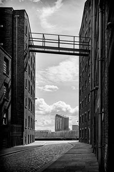 Murray street Ancoats Manchester by Sandra Pledger