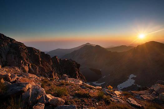 Musala sunrise  by Svetoslav Sokolov