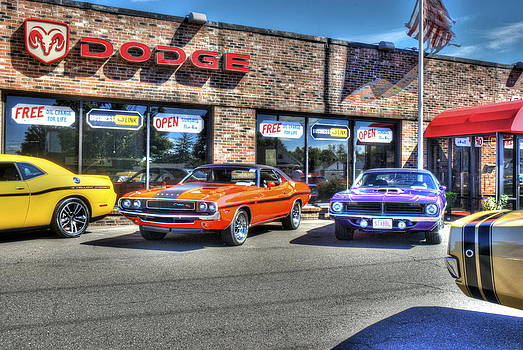 Muscle Car Dealership by Ryan Doray
