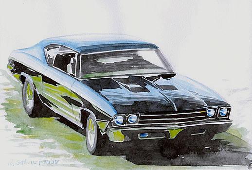 Muscle Car by Rimzil Galimzyanov