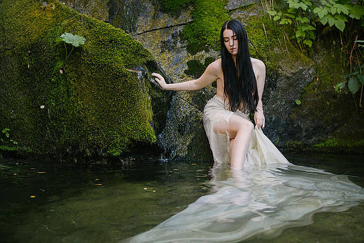 Muse in Mossy Creek by Andrea Borden