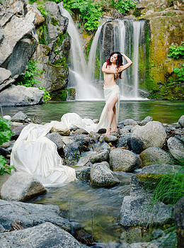 Muse in the Secret Falls by Andrea Borden
