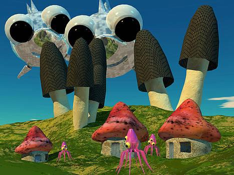 Thomas Olsen - Mushrom Village