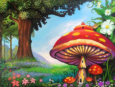 Mushroom House by Robert Korhonen