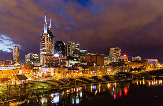 Music City Skyline by John Zocco