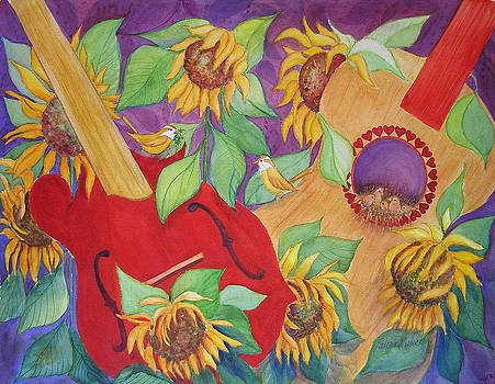 Music In The Meadow II by Laura Nance