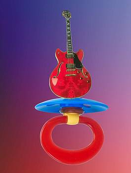 Music is a pacifier by Darryl  Kravitz