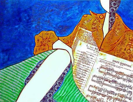 Music Student by Elizabeth  Bogard