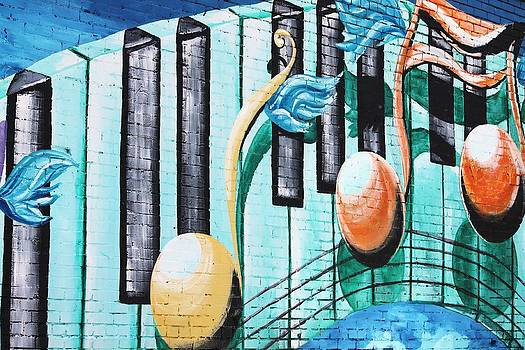 Musical Notes in Deep Ellum by Lorri Crossno