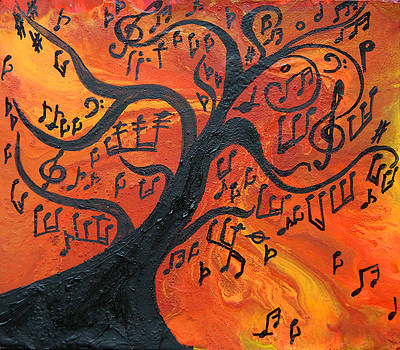 Musical Tree by Julia Apostolova