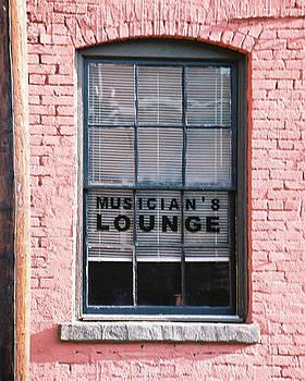 Musician's Lounge by Bernie Smolnik