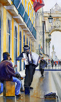Musicos De Rua by Antonio Bartolo