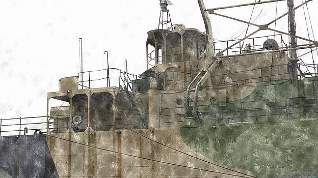 Rosemarie E Seppala - Muskegon Lake Harbor Naval Ship