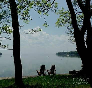 Gail Matthews - Muskoka Chairs in Cottage Country