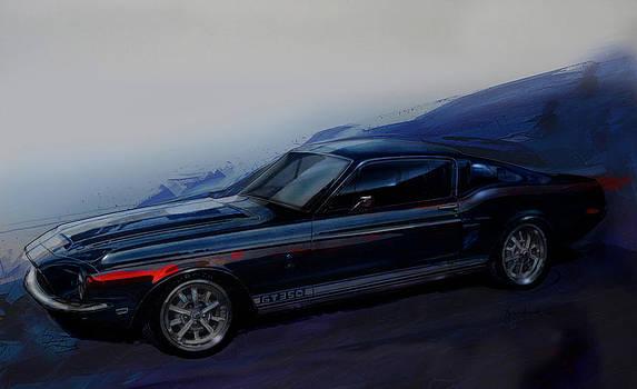Mustang Art by Fred Otene