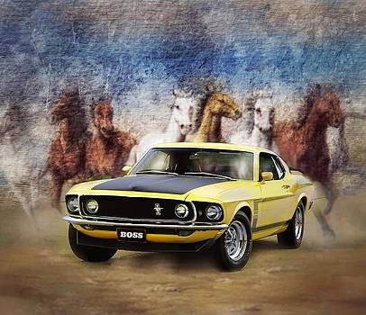 Mustang Boss 302 Horsepower by Kevin Moore