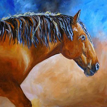 Mustang Horse by Mary Jo Zorad