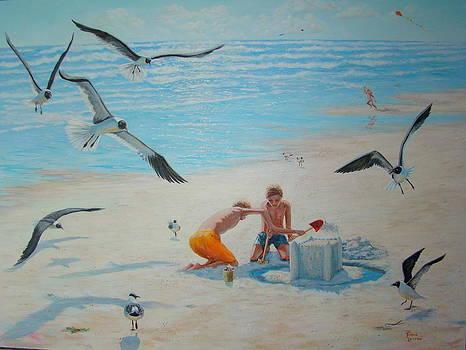 Mustang Island Fun by Terrie Leyton