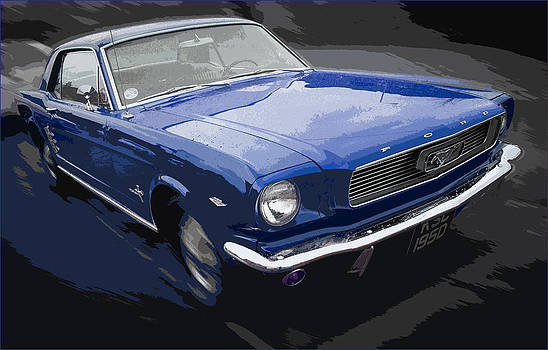 Mustang Muscle by Brian Minnis