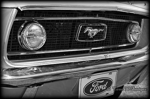 Mustang by Terri K Designs
