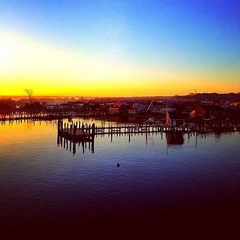MV sunrise by Eugene Bergeron