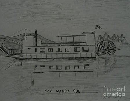 MV Wanda Sue by Anthony Dunphy