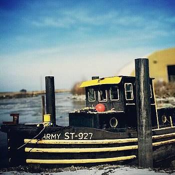 #mvdp #boat #winter #newjersey #peir by Malcolm Van Atta III