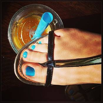 My Boba Straw Matches My Toes by Alli Flynn