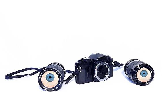 My Camera has Eyes by Michael Sokalski