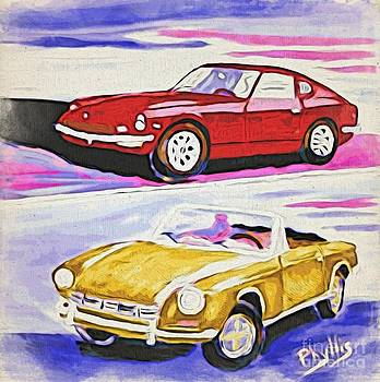 My Cars of The Past by Phyllis Kaltenbach