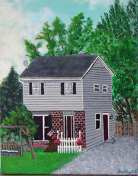 My Childhood Home by James Violett II
