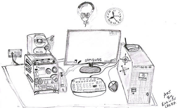 My Command Center by Evewin Lakra