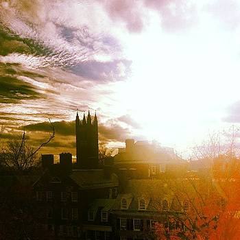 My Current View Of #princeton by Brian Harris