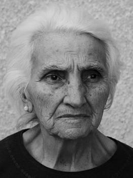 My dear grandma by Diana Dimitrova