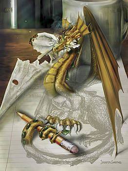 My Dragon Ate My Homework by Jennifer Garstang