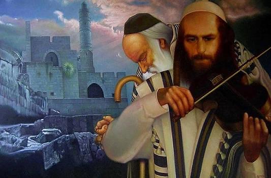 My dreams. Elery about Jerusalem. by Eduard Gurevich