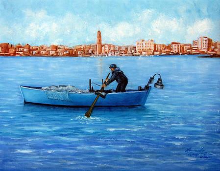 The Fisherman by Leonardo Ruggieri
